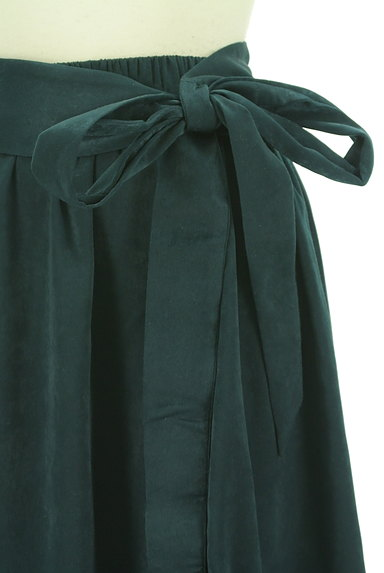 PLST(プラステ)の古着「ウエストリボンフィッシュテールスカート(ロングスカート・マキシスカート)」大画像4へ