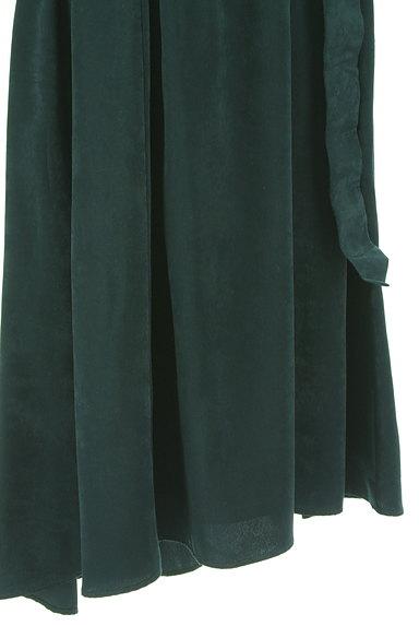 PLST(プラステ)の古着「ウエストリボンフィッシュテールスカート(ロングスカート・マキシスカート)」大画像5へ
