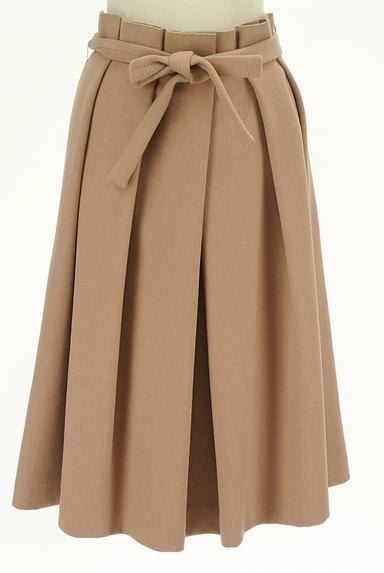 SLOBE IENA(スローブイエナ)の古着「ウエストリボンタックプリーツスカート(ロングスカート・マキシスカート)」大画像1へ
