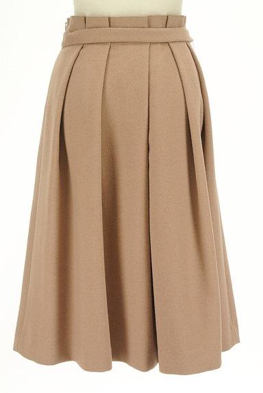 SLOBE IENA(スローブイエナ)の古着「ウエストリボンタックプリーツスカート(ロングスカート・マキシスカート)」大画像2へ