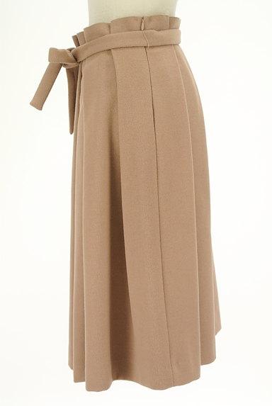 SLOBE IENA(スローブイエナ)の古着「ウエストリボンタックプリーツスカート(ロングスカート・マキシスカート)」大画像3へ