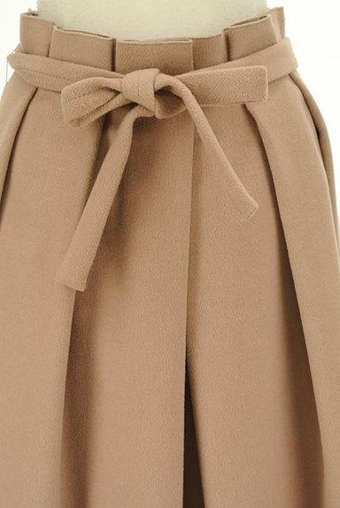 SLOBE IENA(スローブイエナ)の古着「ウエストリボンタックプリーツスカート(ロングスカート・マキシスカート)」大画像4へ
