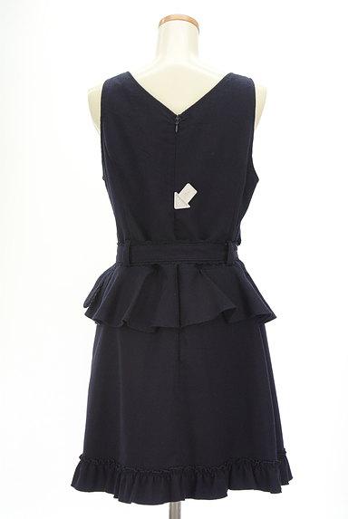 axes femme(アクシーズファム)の古着「装飾ボタンペプラムワンピース(キャミワンピース)」大画像4へ
