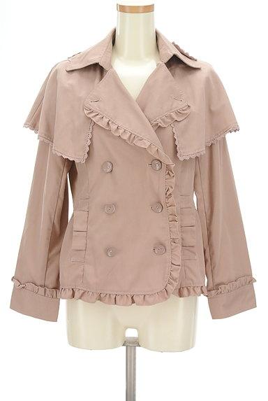 axes femme(アクシーズファム)の古着「ケープ付きフリルジャケット(ジャケット)」大画像1へ