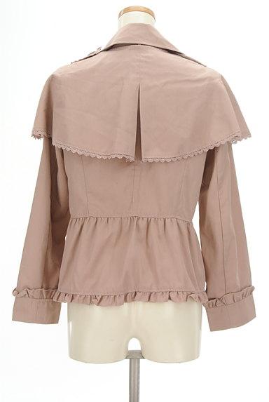 axes femme(アクシーズファム)の古着「ケープ付きフリルジャケット(ジャケット)」大画像2へ