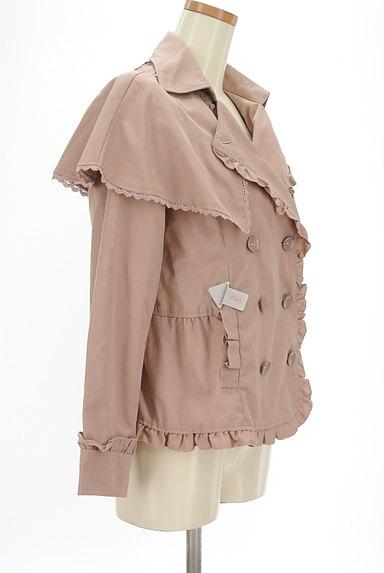 axes femme(アクシーズファム)の古着「ケープ付きフリルジャケット(ジャケット)」大画像3へ
