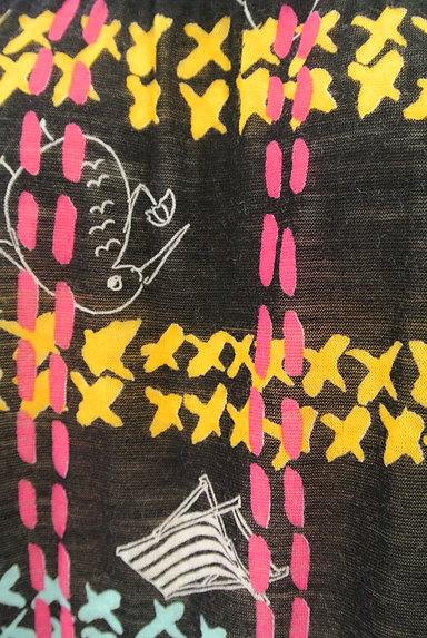 TSUMORI CHISATO(ツモリチサト)の古着「チェック×ポップ柄ワンピース(ワンピース・チュニック)」大画像5へ