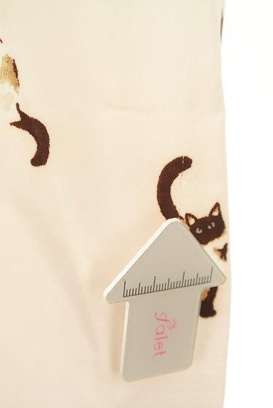 gelato pique(ジェラートピケ)の古着「ネコプリントサテンルームパンツ(パンツ)」大画像5へ