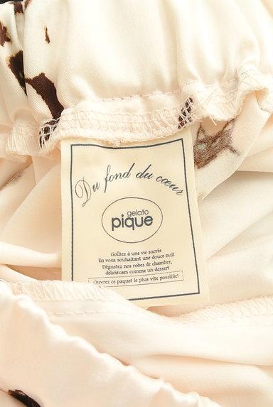 gelato pique(ジェラートピケ)の古着「ネコプリントサテンルームパンツ(パンツ)」大画像6へ