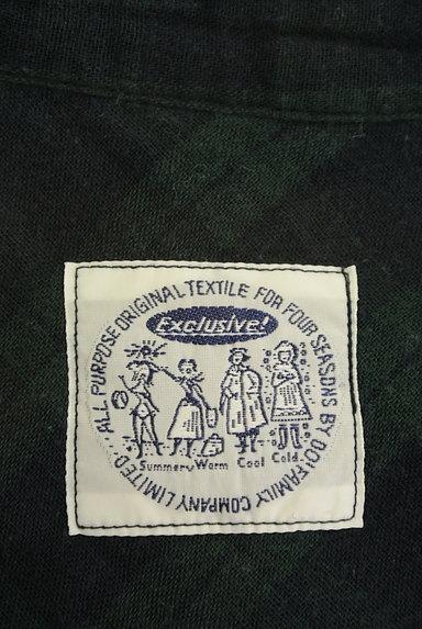 DO!FAMILY(ドゥファミリー)の古着「オープンカラーチェック柄カットソー(カットソー・プルオーバー)」大画像6へ