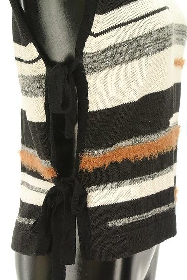 Viaggio Blu(ビアッジョブルー)の古着「サイドリボン装飾ニット(ニット)」大画像4へ