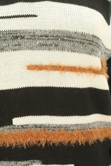 Viaggio Blu(ビアッジョブルー)の古着「サイドリボン装飾ニット(ニット)」大画像5へ