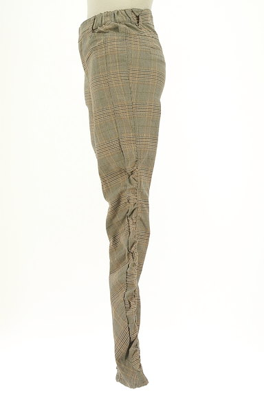 MAYSON GREY(メイソングレイ)の古着「サイドギャザーチェック柄パンツ(パンツ)」大画像3へ