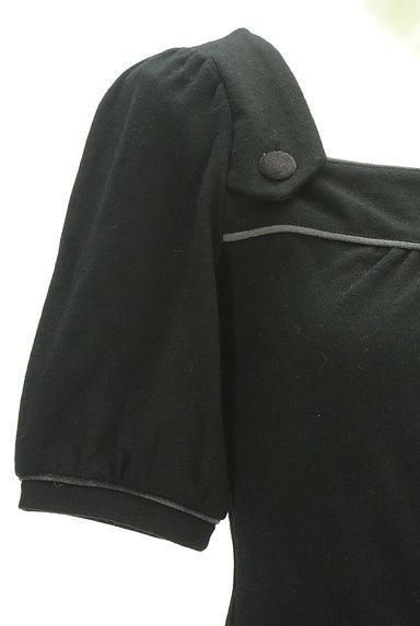 ef-de(エフデ)の古着「ベロアパイピングカットソー(カットソー・プルオーバー)」大画像4へ