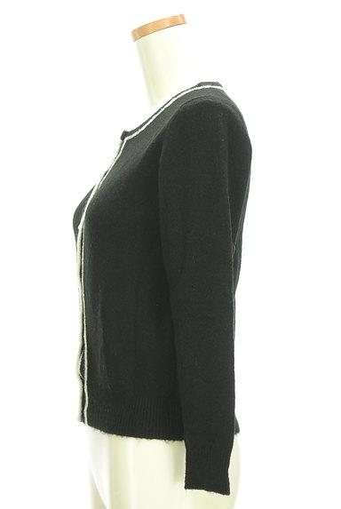ef-de(エフデ)の古着「パールボタンライン入りカーディガン(カーディガン・ボレロ)」大画像3へ