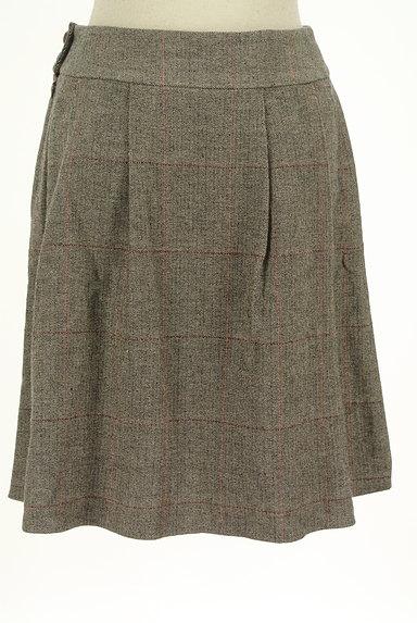 ef-de(エフデ)の古着「ヘリンボーン柄膝丈フレアスカート(スカート)」大画像2へ