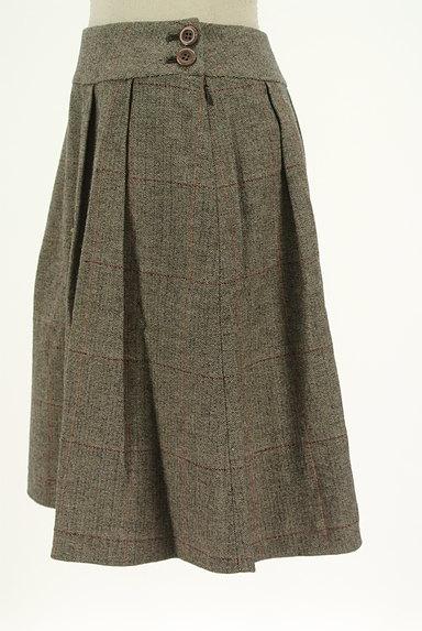 ef-de(エフデ)の古着「ヘリンボーン柄膝丈フレアスカート(スカート)」大画像3へ
