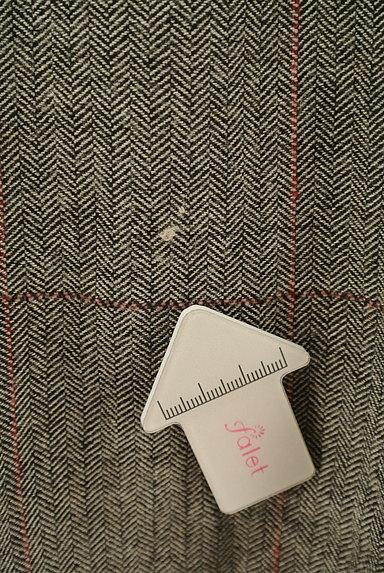 ef-de(エフデ)の古着「ヘリンボーン柄膝丈フレアスカート(スカート)」大画像5へ