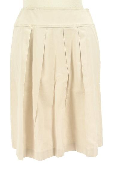 ef-de(エフデ)の古着「膝丈タックフレアスカート(スカート)」大画像1へ