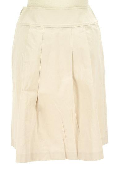 ef-de(エフデ)の古着「膝丈タックフレアスカート(スカート)」大画像2へ