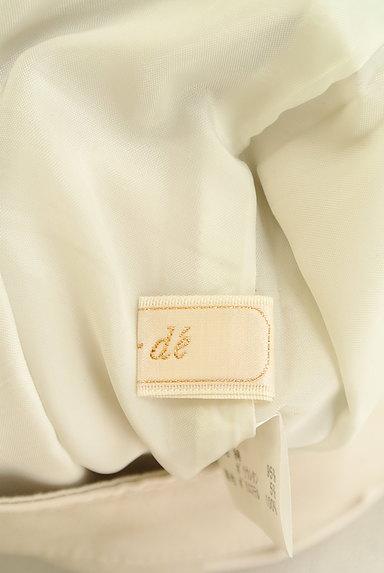 ef-de(エフデ)の古着「膝丈タックフレアスカート(スカート)」大画像6へ