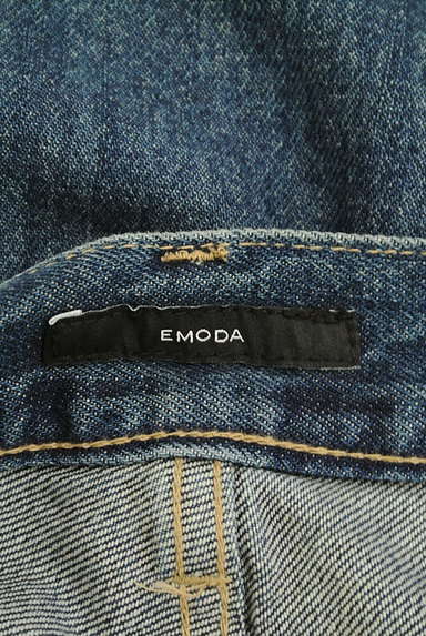 EMODA(エモダ)の古着「ダメージ加工ストレートデニム(デニムパンツ)」大画像6へ