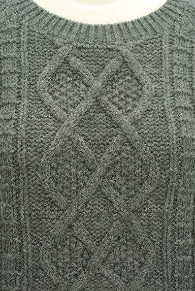 UNTITLED(アンタイトル)の古着「コンパクトケーブル編みニット(セーター)」大画像4へ
