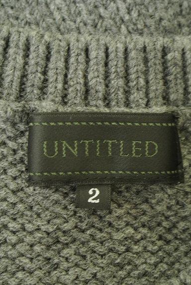 UNTITLED(アンタイトル)の古着「コンパクトケーブル編みニット(セーター)」大画像6へ