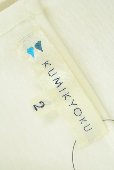 KUMIKYOKU(組曲)の古着「花柄刺繍シアーカットソー(カットソー・プルオーバー)」大画像6へ