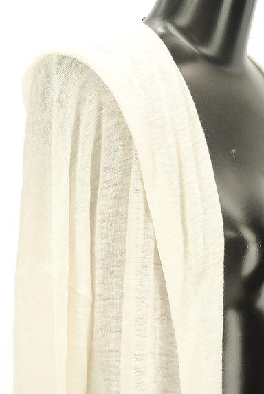Pao.de.lo(パオデロ)の古着「ロングフーディカーディガン(カーディガン・ボレロ)」大画像5へ