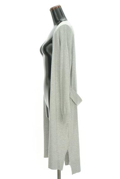 Ketty Cherie(ケティ シェリー)の古着「バックベルトロングカーディガン(カーディガン・ボレロ)」大画像3へ