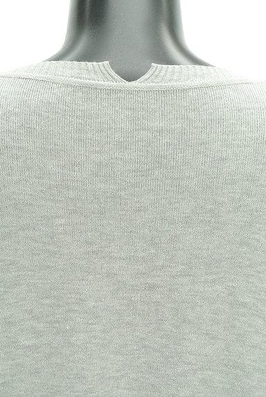 Ketty Cherie(ケティ シェリー)の古着「バックベルトロングカーディガン(カーディガン・ボレロ)」大画像4へ