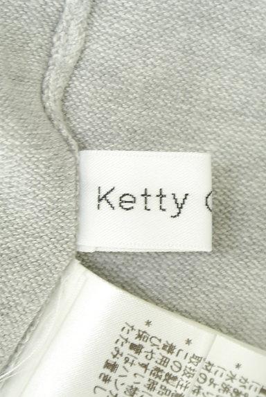 Ketty Cherie(ケティ シェリー)の古着「バックベルトロングカーディガン(カーディガン・ボレロ)」大画像6へ