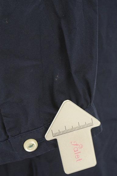 POU DOU DOU(プードゥドゥ)の古着「ストライプ柄切替バンドカラーシャツ(カジュアルシャツ)」大画像5へ