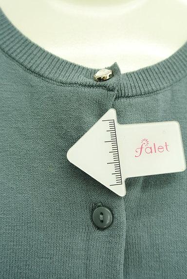 JUSGLITTY(ジャスグリッティー)の古着「ラインストーンボタンカーディガン(カーディガン・ボレロ)」大画像5へ
