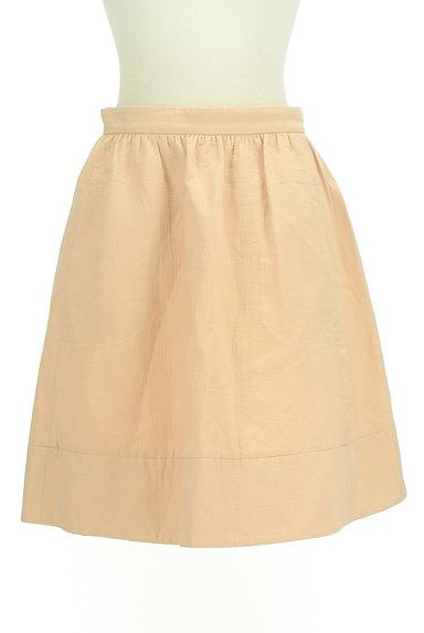 NOLLEY'S sophi(ノーリーズソフィ)の古着「シンプル膝丈フレアスカート(スカート)」大画像1へ