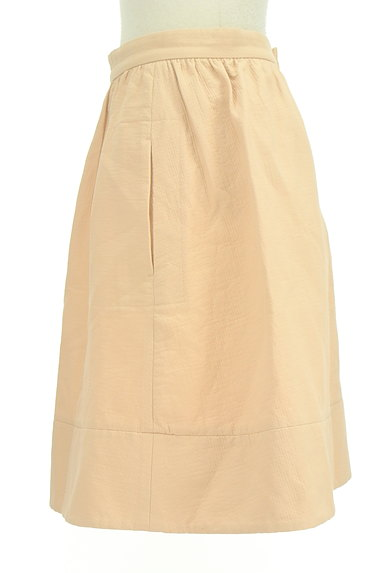 NOLLEY'S sophi(ノーリーズソフィ)の古着「シンプル膝丈フレアスカート(スカート)」大画像3へ