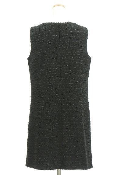 M-premier(エムプルミエ)の古着「Vネックラメジャンパースカート(オーバーオール・サロペット)」大画像2へ