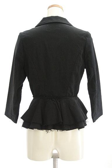 carolinaglaser(カロリナグレイサー)の古着「裾フリルコンパクトジャケット(ジャケット)」大画像2へ