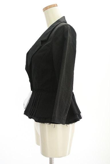 carolinaglaser(カロリナグレイサー)の古着「裾フリルコンパクトジャケット(ジャケット)」大画像3へ