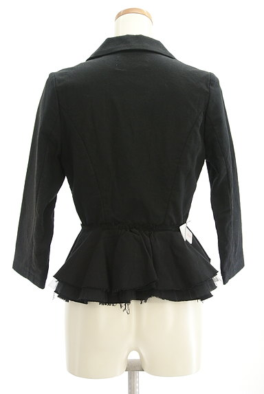 carolinaglaser(カロリナグレイサー)の古着「裾フリルコンパクトジャケット(ジャケット)」大画像4へ