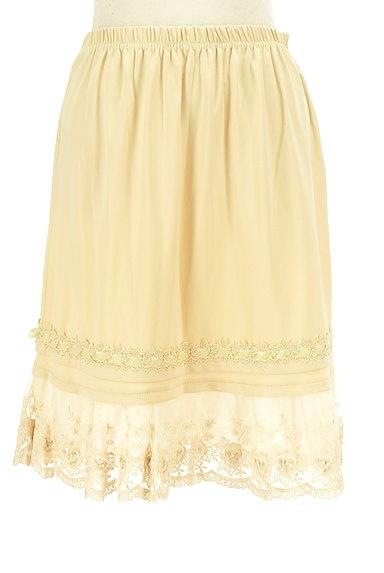 axes femme(アクシーズファム)の古着「刺繍レース裾スカート(スカート)」大画像1へ