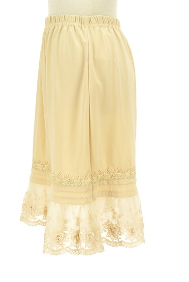 axes femme(アクシーズファム)の古着「刺繍レース裾スカート(スカート)」大画像3へ