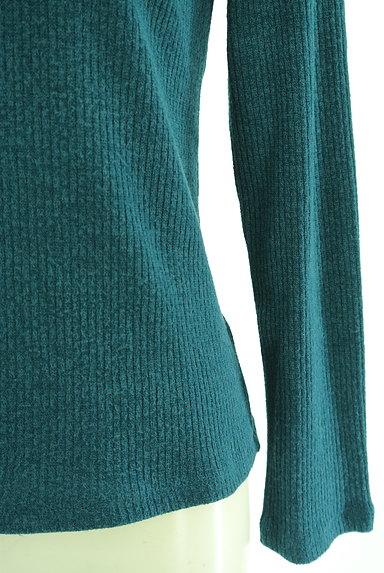 axes femme(アクシーズファム)の古着「装飾ハイネックリブニット(ニット)」大画像4へ