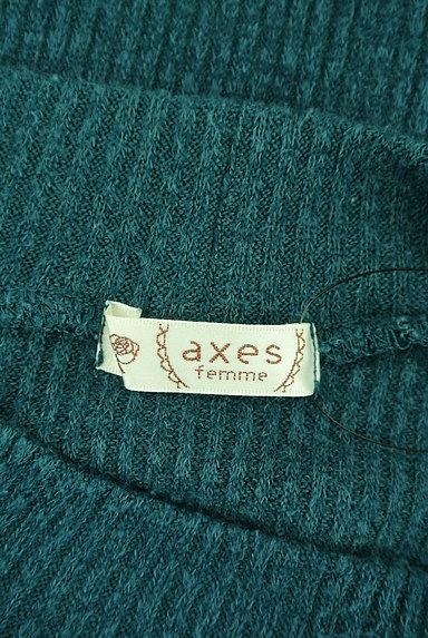 axes femme(アクシーズファム)の古着「装飾ハイネックリブニット(ニット)」大画像6へ