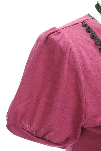 axes femme(アクシーズファム)の古着「シフォンリボンタイカットソー(カットソー・プルオーバー)」大画像5へ