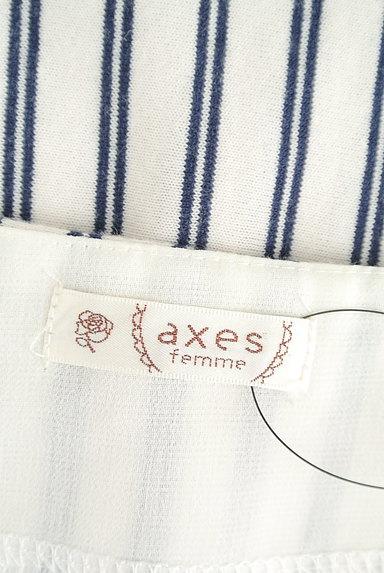 axes femme(アクシーズファム)の古着「シフォンスリーブカットソー(カットソー・プルオーバー)」大画像6へ