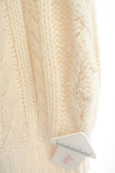 SM2(サマンサモスモス)の古着「ボリューム袖ケーブル編みカーデ(カーディガン・ボレロ)」大画像5へ