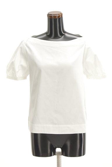 ANAYI(アナイ)の古着「ボートネックパフ袖カットソー(カットソー・プルオーバー)」大画像1へ