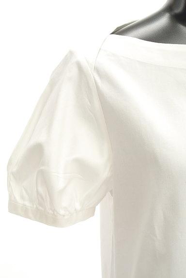 ANAYI(アナイ)の古着「ボートネックパフ袖カットソー(カットソー・プルオーバー)」大画像4へ